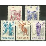 Rumänien 2184-2188 **