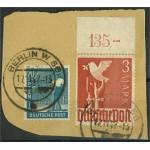 Alliierte Besetzung 961+950 på brevklipp