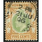 Hongkong 78 stämplad