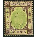 Hongkong 67 stämplad