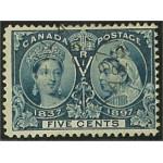 Canada 42 stämplad
