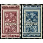 Vatikanen 185-186 stämplade