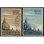 Vatikanen 205-206 stämplade