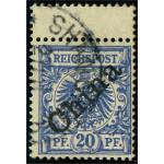 Tysk post i Kina 4 I stämplad