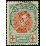 Belgien 110B stämplad