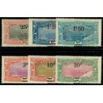 Franska Somaliakusten 132-137 *