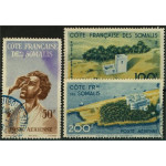 Franska Somaliakusten 304-306 stämplade