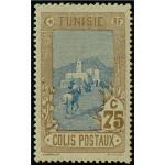Tunisien paketmärke 7 **