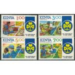 Kenya 322-325 **