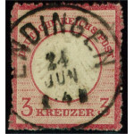 Tyska Riket 9 stämplad