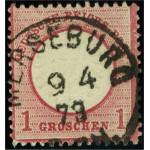 Tyska Riket 19 stämplad