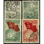 Sovjet 584-587 stämplade