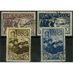 Sovjet 614-617 stämplade