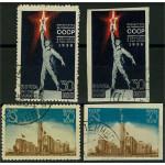 Sovjet 693-694 A+B stämplade