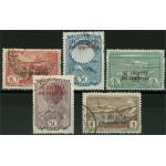 Sovjet 709-713 stämplade