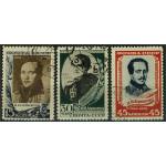 Sovjet 726-728 stämplade