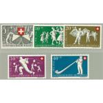 Schweiz 555-559 **