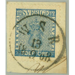 Sverige 9d3 W.S.B. 13.9.1868