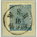 Sverige 9c3 W.S.B. 16.9.1868