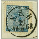 Sverige 9c3 N.S.B. 26.8.1868