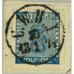 Sverige 9 U.W.H.J. 10.1.1871