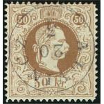 Österrike 41 II E stämplad