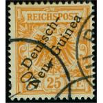 Tyska Nya-Guinea 5a stämplad