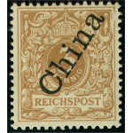 Tysk post i Kina 1 II b *