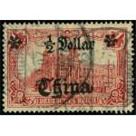 Tysk post i Kina 44 I A stämplad