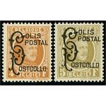 Belgien Postpaket 1-2 *