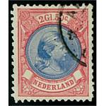Nederländerna 45bB stämplad