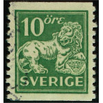 Sverige 144Acc stämplad