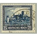 Tyska Riket 452 stämplad