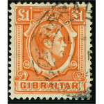 Gibraltar 117 stämplad