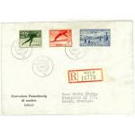 Norge 404-406 på brev