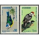 Franska Andorra 253-254 **