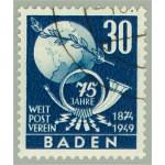 Baden 57 stämplad