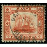 Malta 12 stämplad