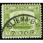 Malta 38 stämplad