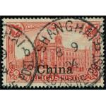 Tysk post i Kina 24 stämplad