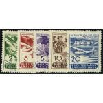 Jugoslavien 611-615 stämplade