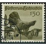 Liechtenstein 251 stämplad