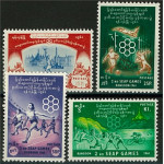 Burma 169-172 **