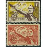 Franska Indokina 334-335 (*)