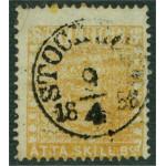Sverige 4g STOCKHOLM 9.4.1858