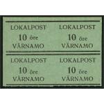 Värnamo Lokalpost 3B och 3D ** 4-block