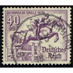 Tyska Riket 616 stämplad