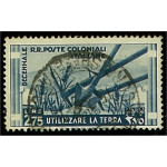 Italienska kolonier 59 stämplad