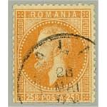 Rumänien 41 stämplad