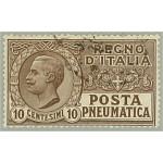 Italien 110 stämplad